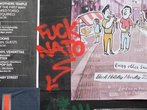 fuck nato graffiti